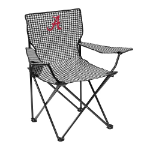 Alabama Quad Chair w/ Crimson Tide Houndstooth Logo