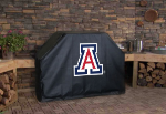 Arizona Grill Cover with Wildcats Logo on Black Vinyl
