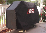 Louisiana Lafayette Grill Cover with Ragin Cajuns Logo on Vinyl