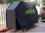 North Dakota State Grill Cover with Bison Logo on Black Vinyl