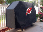 New Jersey Grill Cover with Devils Logo on Black Vinyl