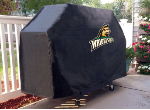 Wright State Grill Cover with Raiders Logo on Black Vinyl