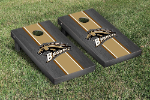 Western Michigan Cornhole Boards w/ Broncos Logo