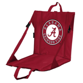Alabama Stadium Seat w/ Crimson Tide Logo - Cushioned Back