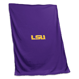 LSU Tigers Sweatshirt Blanket