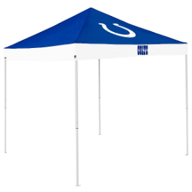 Indianapolis Tent w/ Colts Logo - 9 x 9 Economy Canopy
