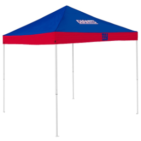 New York Tent w/ Giants Logo - 9 x 9 Economy Canopy