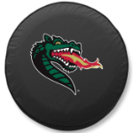 Alabama Birmingham Blazers Black Spare Tire Cover By HBS