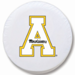 Appalachian State Mountaineers White Tire Cover By HBS