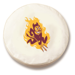 Arizona State Sun Devils White Tire Cover By HBS