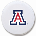 Arizona Wildcats White Spare Tire Cover By HBS