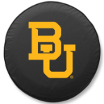 Baylor Bears Black Spare Tire Cover By HBS