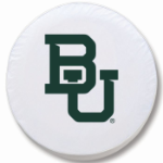 Baylor Bears White Spare Tire Cover By HBS