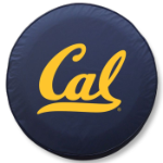 California Golden Bears Navy Blue Tire Cover By HBS