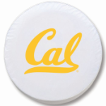 California Golden Bears White Spare Tire Cover By HBS