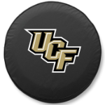 Central Florida Golden Knights Black Tire Cover By HBS