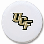 Central Florida Golden Knights White Tire Cover By HBS