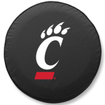 Cincinnati Bearcats Black Spare Tire Cover By HBS