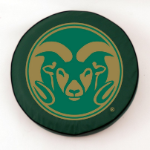 Colorado State Rams Green Spare Tire Cover By HBS