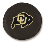 Colorado Buffaloes Black Spare Tire Cover By HBS