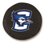 Creighton Bluejays Black Spare Tire Cover By HBS