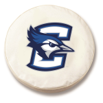 Creighton Bluejays White Spare Tire Cover By HBS