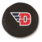 Dayton Flyers Black Spare Tire Cover By HBS