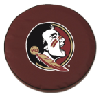 Florida State Seminoles Burgundy Spare Tire Cover By HBS