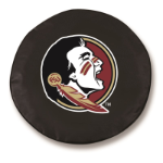Florida State Seminoles Black Spare Tire Cover By HBS