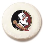 Florida State Seminoles White Spare Tire Covers By HBS
