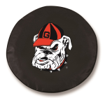 Georgia Bulldogs Black Spare Tire Cover By HBS
