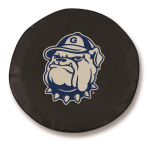 Georgetown Hoyas Black Spare Tire Cover By HBS