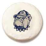 Georgetown Hoyas White Spare Tire Cover By HBS
