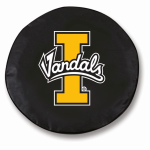 Idaho Vandals Black Spare Tire Cover By HBS