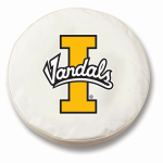 Idaho Vandals White Spare Tire Cover By HBS