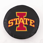 Iowa State Cyclones Black Spare Tire Cover By HBS