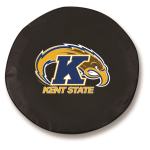 Kent State Golden Flashes Black Tire Cover By HBS