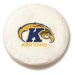 Kent State Golden Flashes White Tire Cover By HBS
