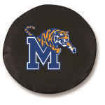Memphis Tigers Black Spare Tire Cover By HBS