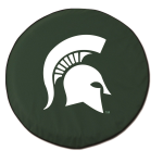 Michigan State Spartans Green Tire Cover By HBS