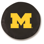 Michigan Wolverines Black Spare Tire Cover By HBS