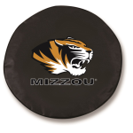 Missouri Tigers Black Spare Tire Cover By HBS