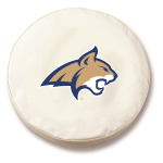Montana State Bobcats White Spare Tire Cover By HBS