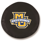 Marquette Golden Eagles Black Spare Tire Cover By HBS