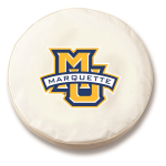 Marquette Golden Eagles White Spare Tire Cover By HBS