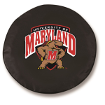 Maryland Terrapins Black Spare Tire Cover By HBS