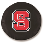 NC State Wolfpack Black Tire Cover By HBS