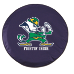 Notre Dame Fighting Irish Navy Tire Cover By HBS