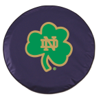 Notre Dame Fighting Irish Navy Tire Covers By HBS