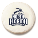 North Florida Ospreys White Spare Tire Cover By HBS